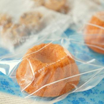 洋菓子の袋詰め作業